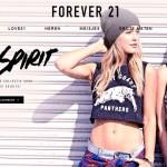 Nederlandse webshop Forever21 geopend