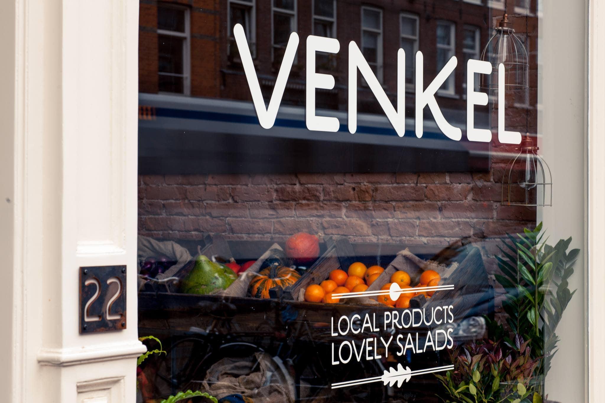 Maaltijdsalades bij Venkel in Amsterdam