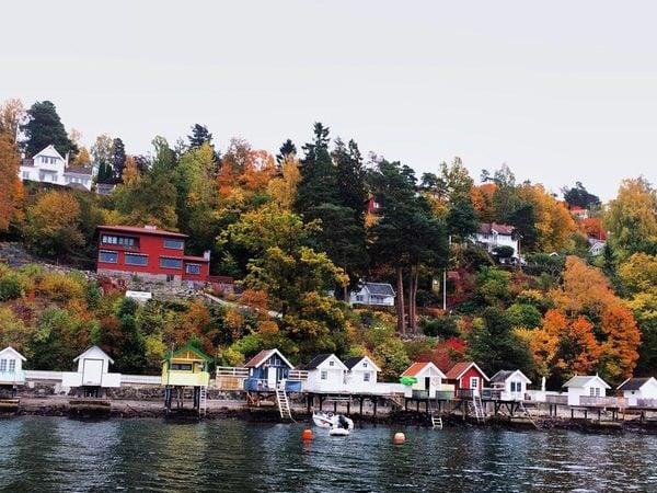 My travel year 2016 in Oslo