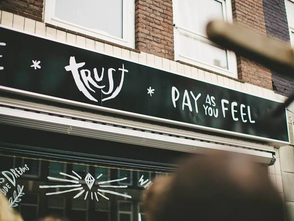 Trust Amsterdam: pay as you feel