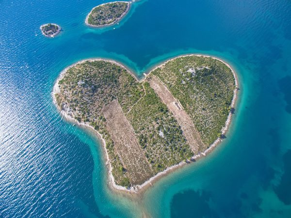 Romantische steden in Kroatie Galesnjak