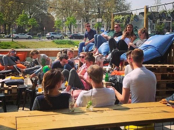 Strandgevoel in de stad: Utrecht