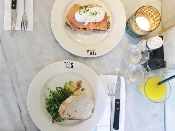 Ontbijten in Utrecht Teds