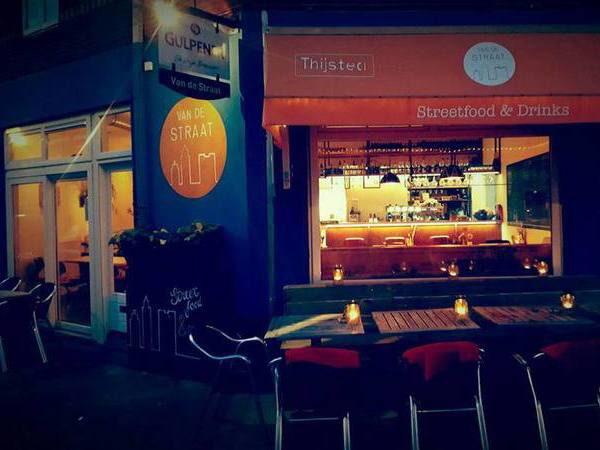 Streetfood & Drinks bij Van de Straat in het Utrechtse Lombok