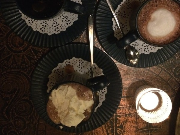 Warme chocolademelk in Kopenhagen