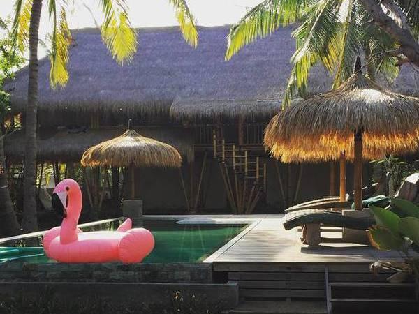 Zwembad Captain Coconuts Gili Air