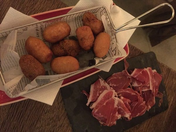 Tapas bij La Bona Sort in Barcelona