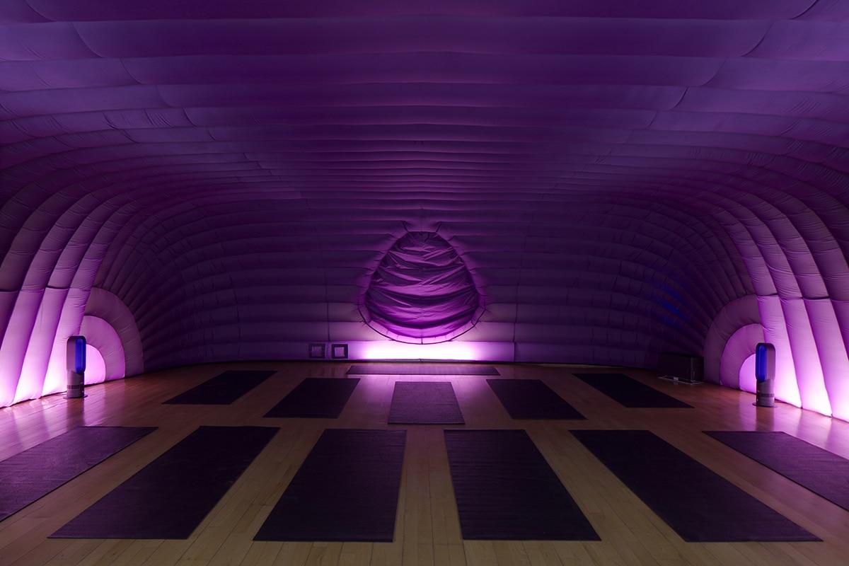 Hotpod yoga in Club Lite