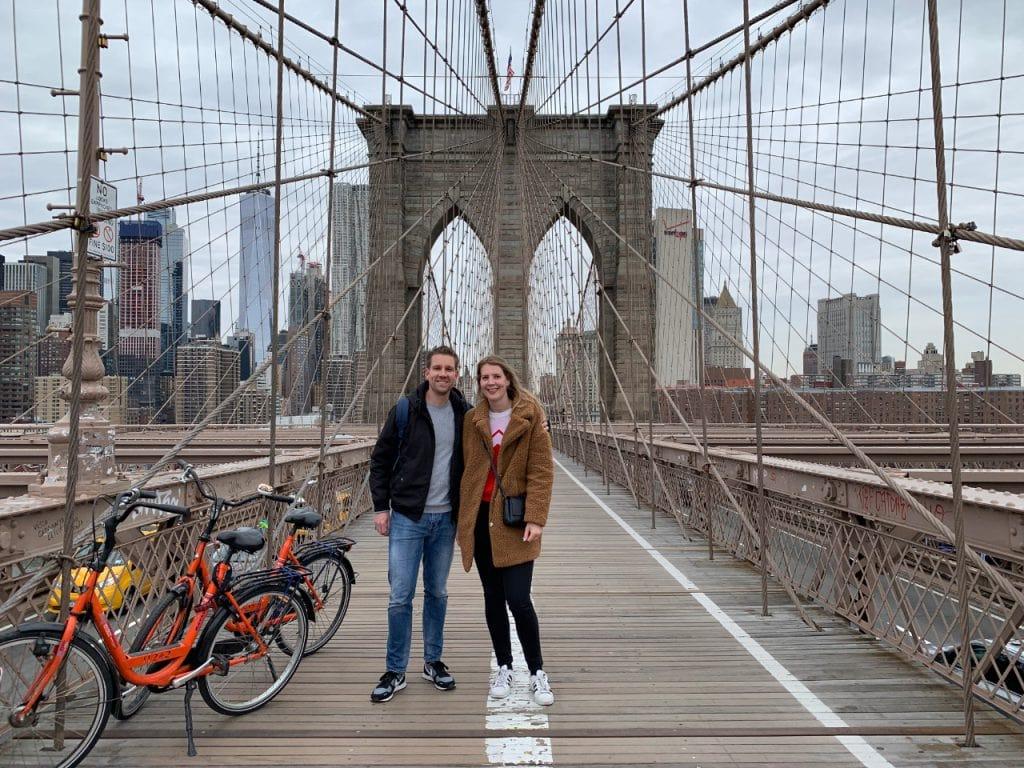 Baja Bikes fietstour Manhattan Brooklyn Bridge