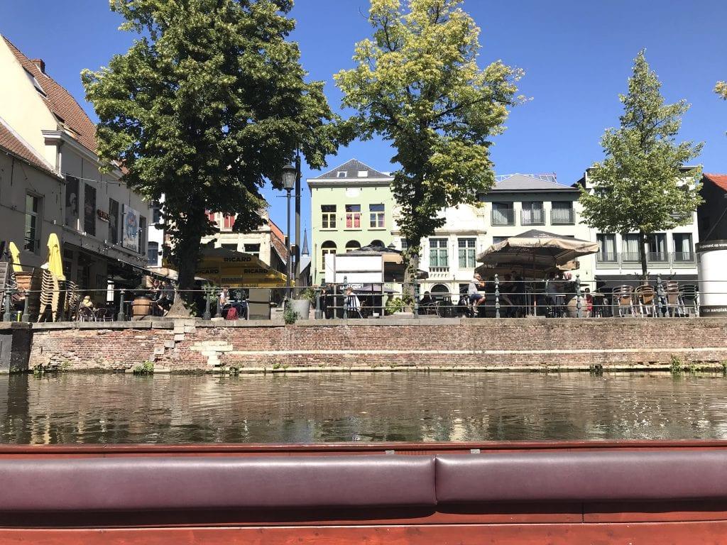 Boottochtje Mechelen tijdens stedentrip