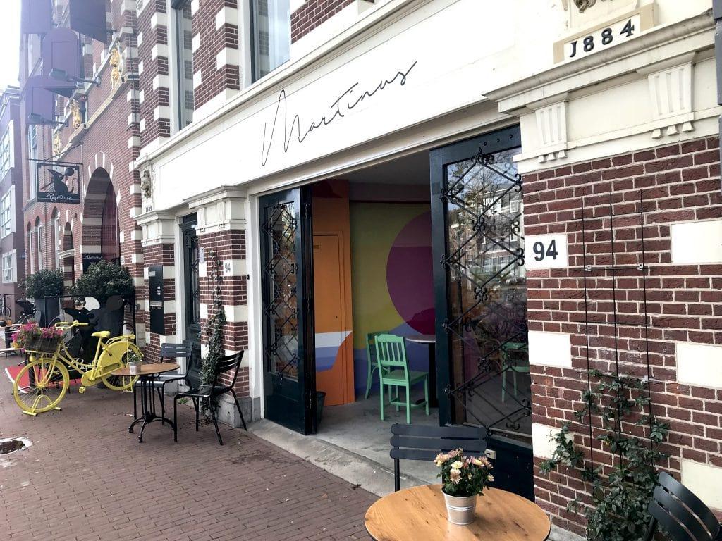 Cafe Martinus menu en prijzen Haarlem