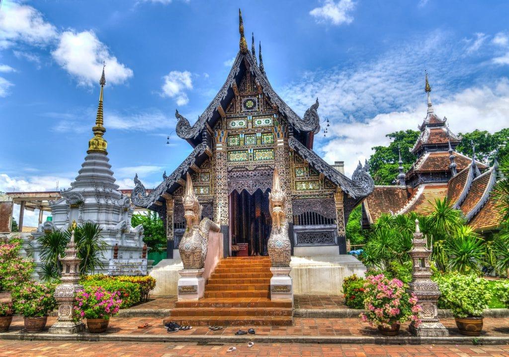 Chiang Mai Thailand mooie tempel