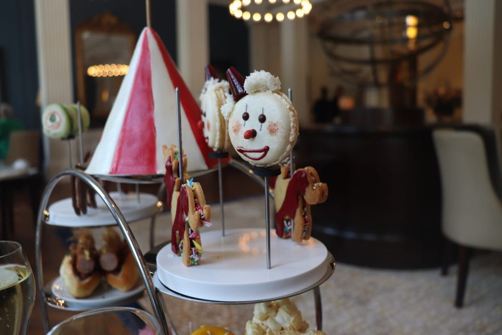 Clown macaron Summer Afternoon Tea