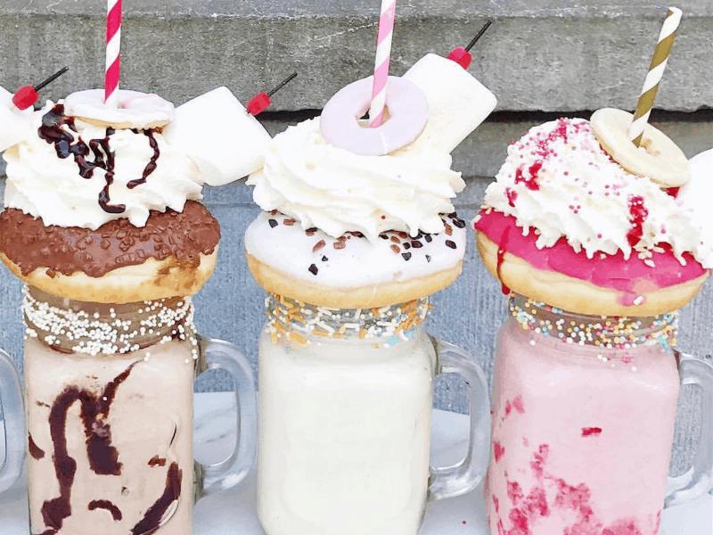 Corner Bakery milkshake