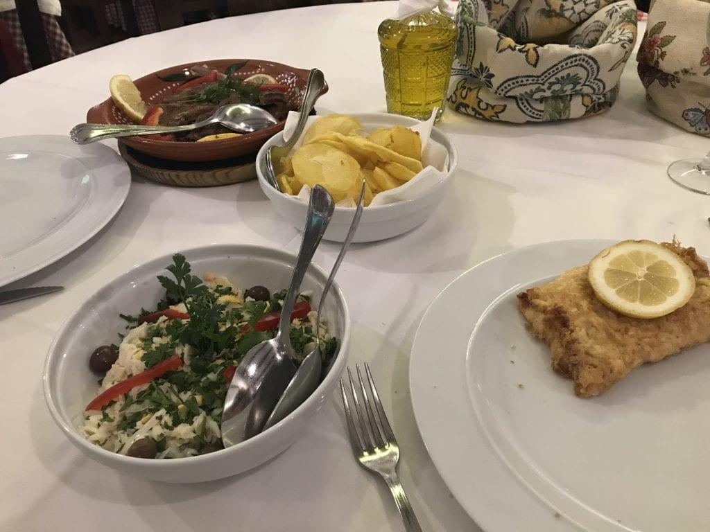Eten in Porto bij A Cosinha do Manuel