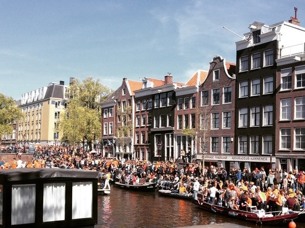 Feesten Koningsdag 2018 Amsterdam