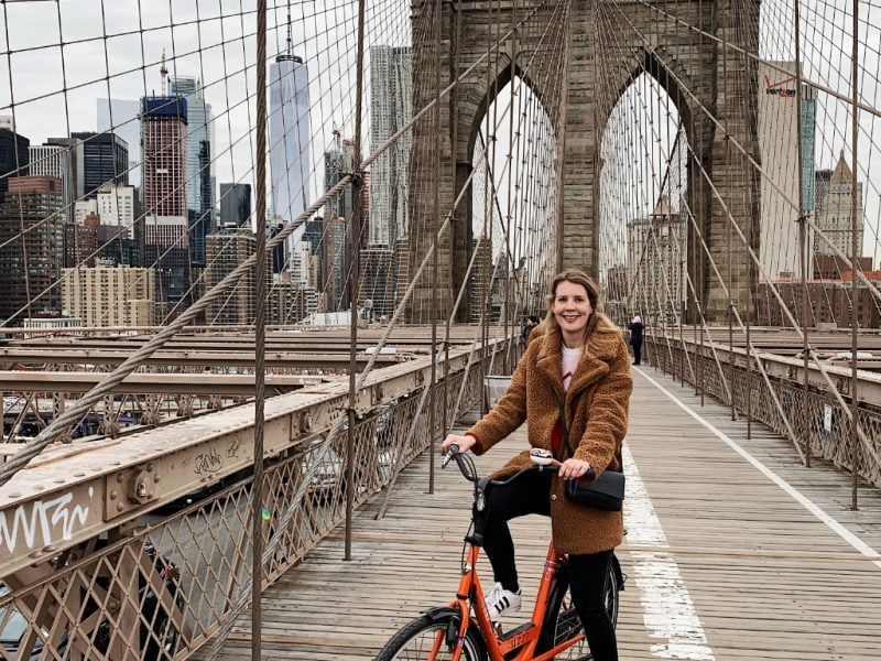 Fietsen in New York Brooklyn Bridge fietstour
