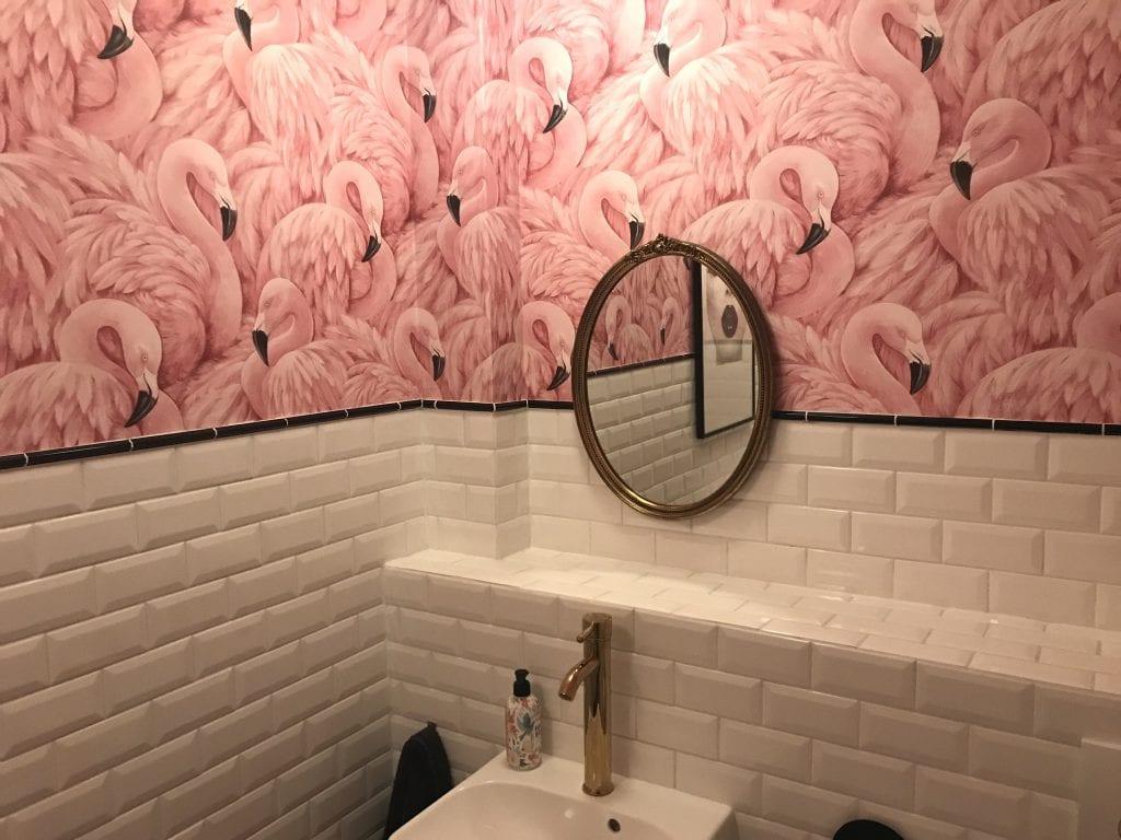 Flamingo toilet cafe Martinus Haarlem