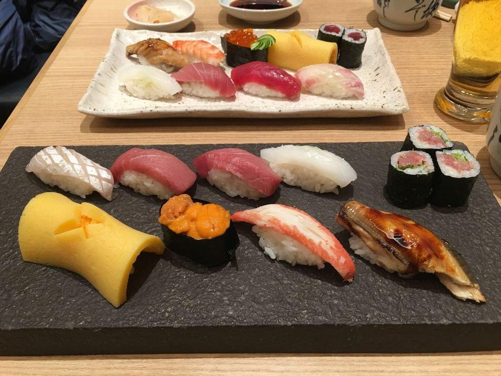 Fuku Sushi Osaka Kaoru Yamamoto