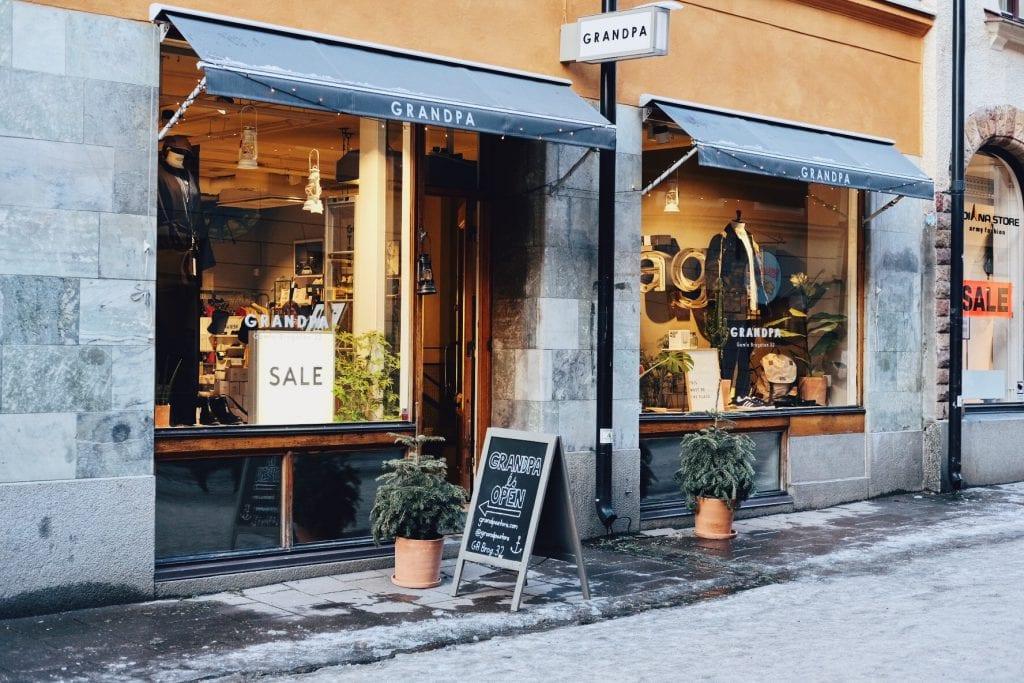Grandpa store Stockholm Daisy de Pater