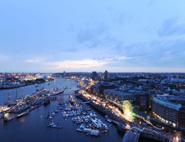 Hamburg stedentrip Elbe