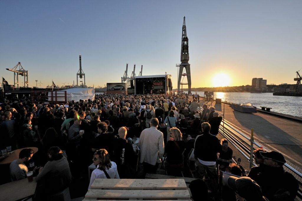Hamburg stedentrip Elbe Elbjazz festival