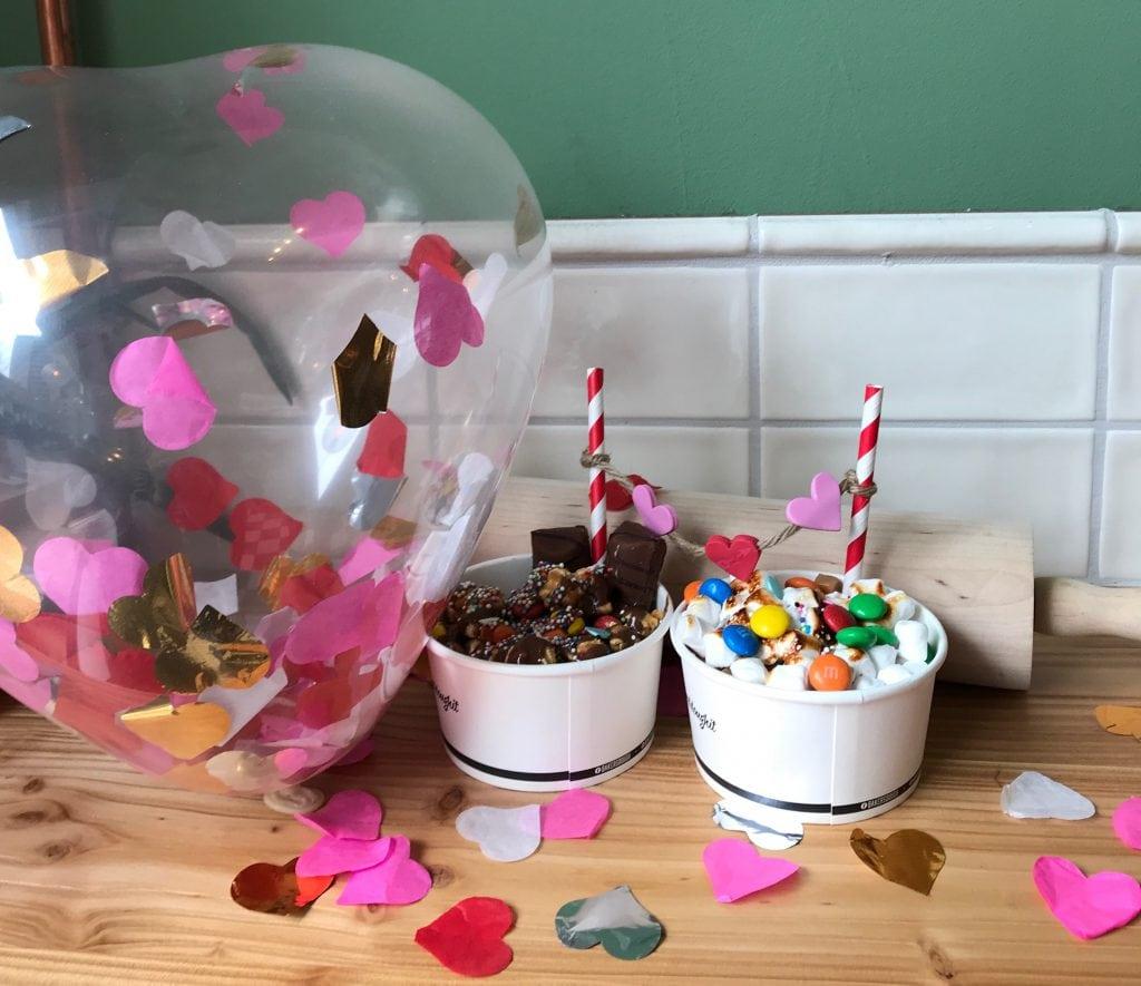 Hartjes balon Valentijns Winactie Baker's Dough