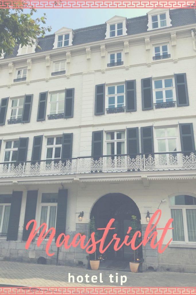 Hotel tip voor Maastricht