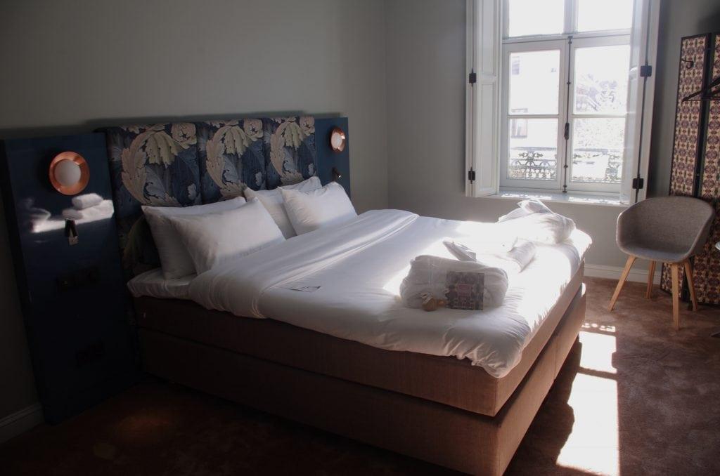 De hotelkamer van Hotel Monastere Maastricht
