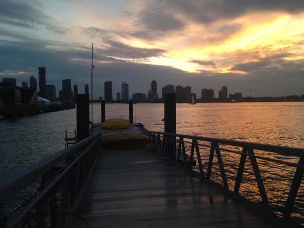 Kajakken op de Hudson in New York
