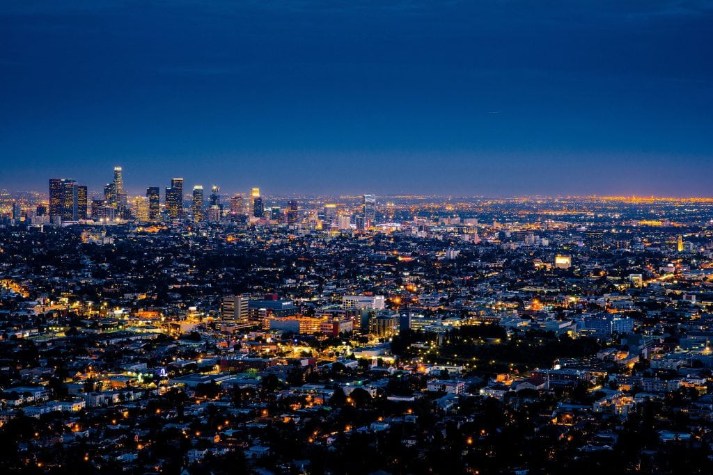 Los Angeles favoriete stad Aret Hairmonk