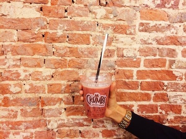 Ms Happy juice bij Ms Crumble