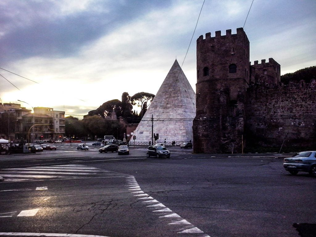 Loved by locals: Piramide Testaccio