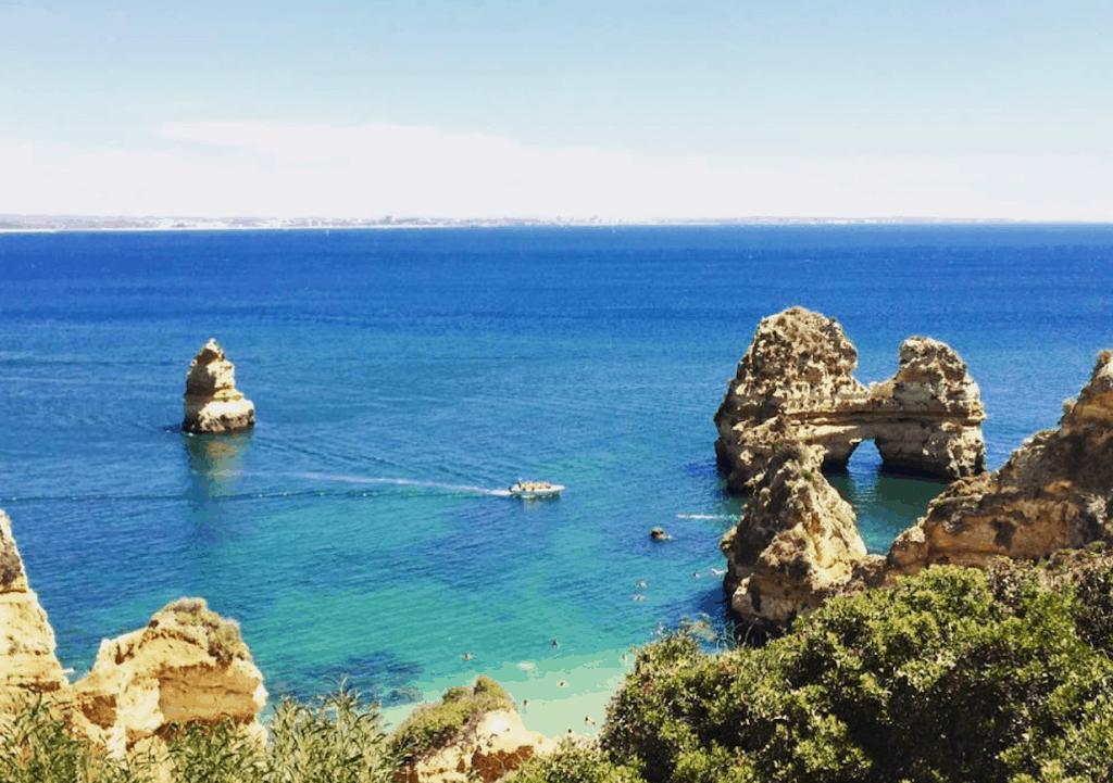 Portugal uitzicht zee