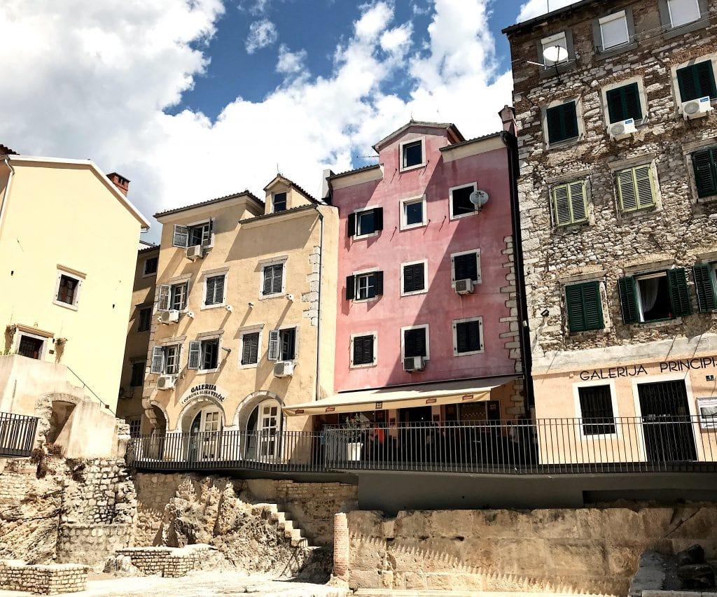 Rijeka hotspots Kroatië stad
