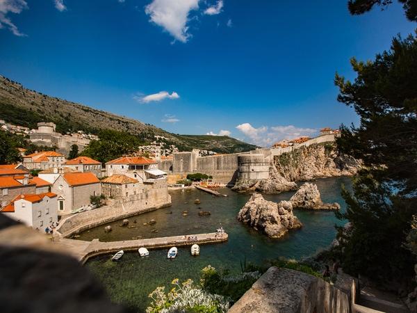 Romantische steden in Kroatië Dubrovnik