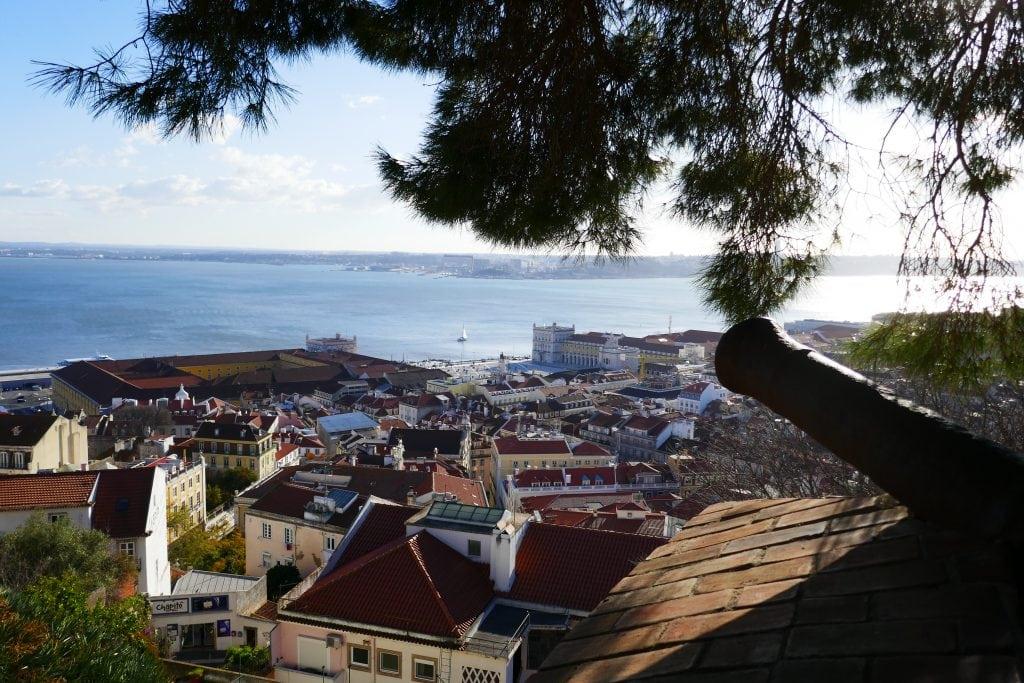 Rosa Scholtens uitkijkpunt Lissabon