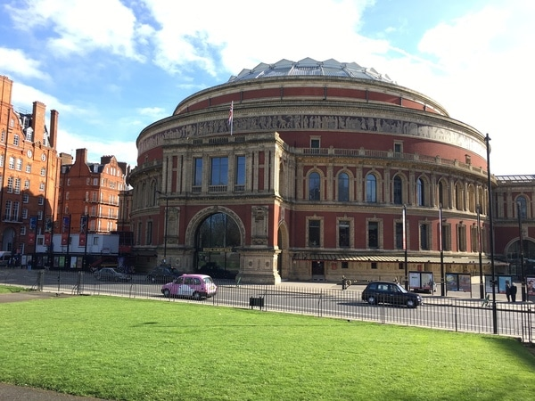 Loved by locals: Londen Royal Albert Hall