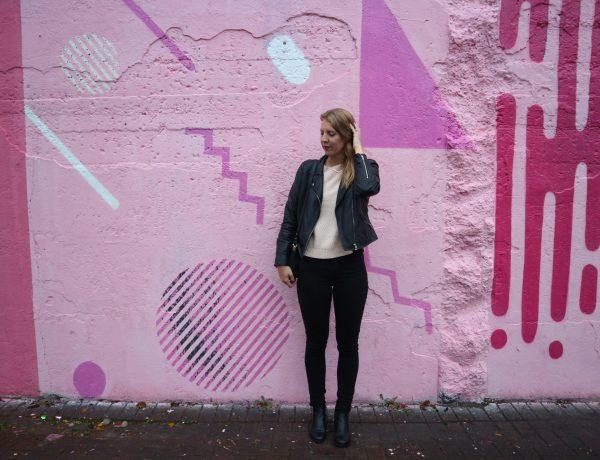 Roze Instagram muur Rotterdam
