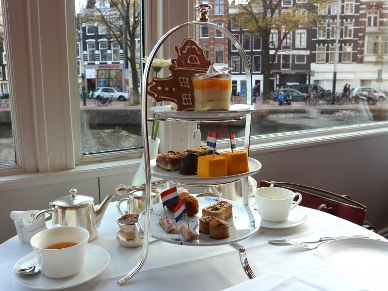 So Dutch Afternoon Tea bij De L'Europe Amsterdam