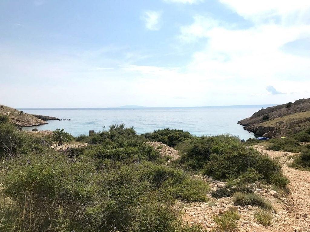 Stara Baska Krk verborgen strand