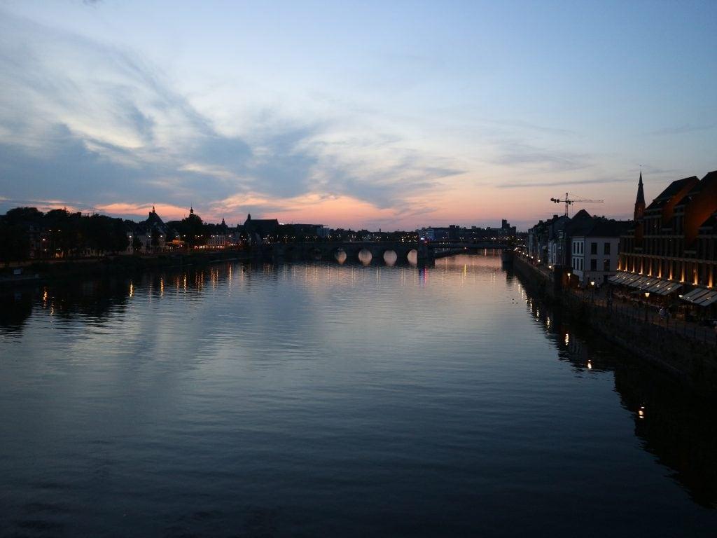 Uitzicht tijdens stedentrip Maastricht