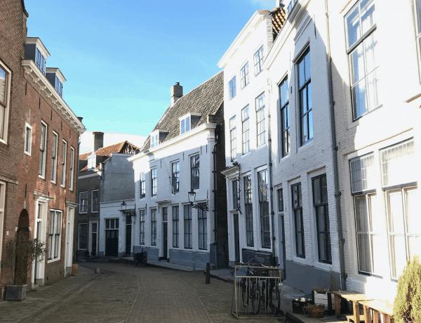 Straatjes tijdens weekendje Middelburg
