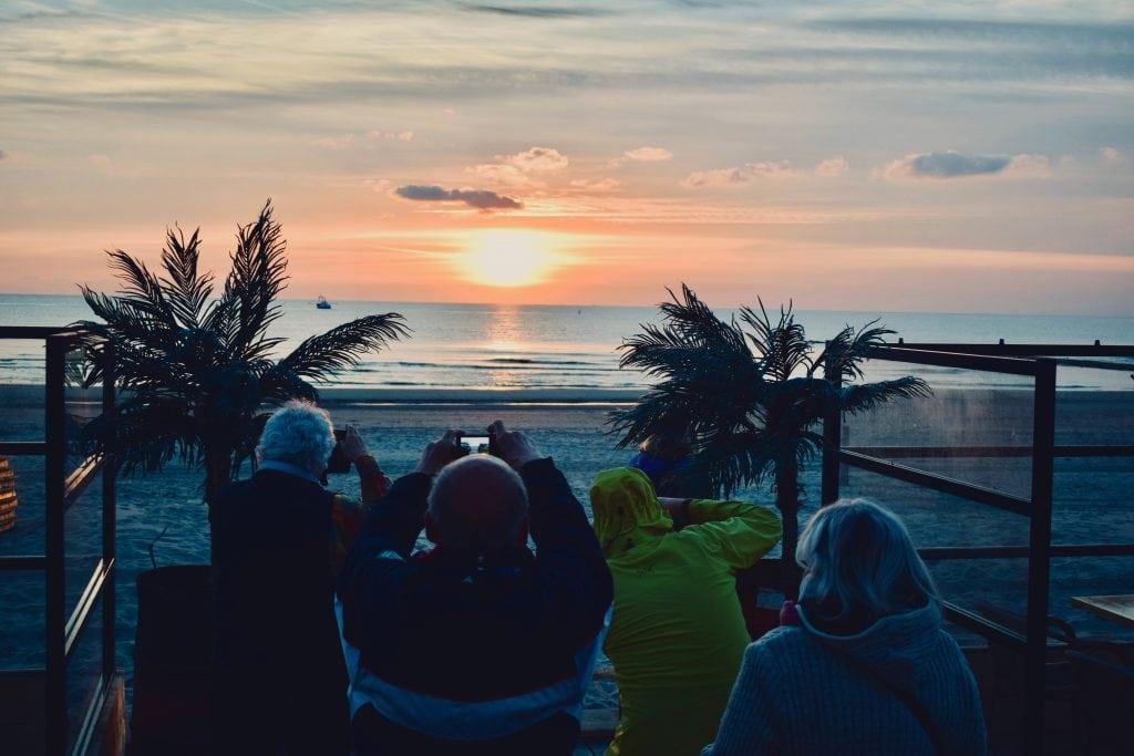 Strandpaviljoen 12 strandtenten op Texel