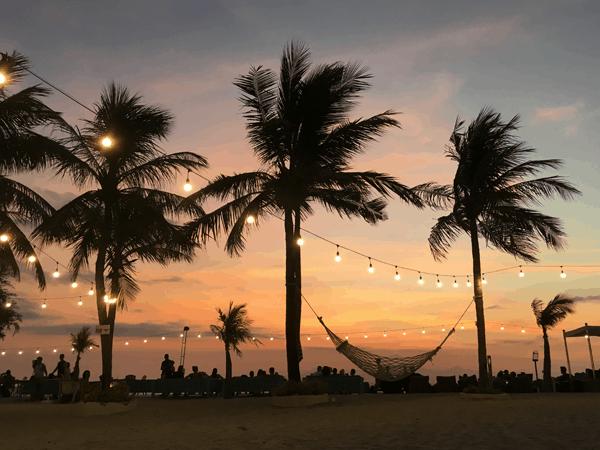 Sunset beach Gili Hanneke Kuipers van Health by Hanneke