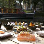 SushiSamba Amsterdam terras aan de Singelgracht