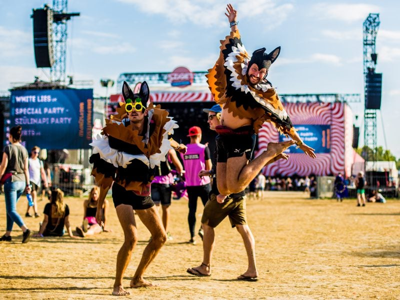 Sziget festival 2018 overdag