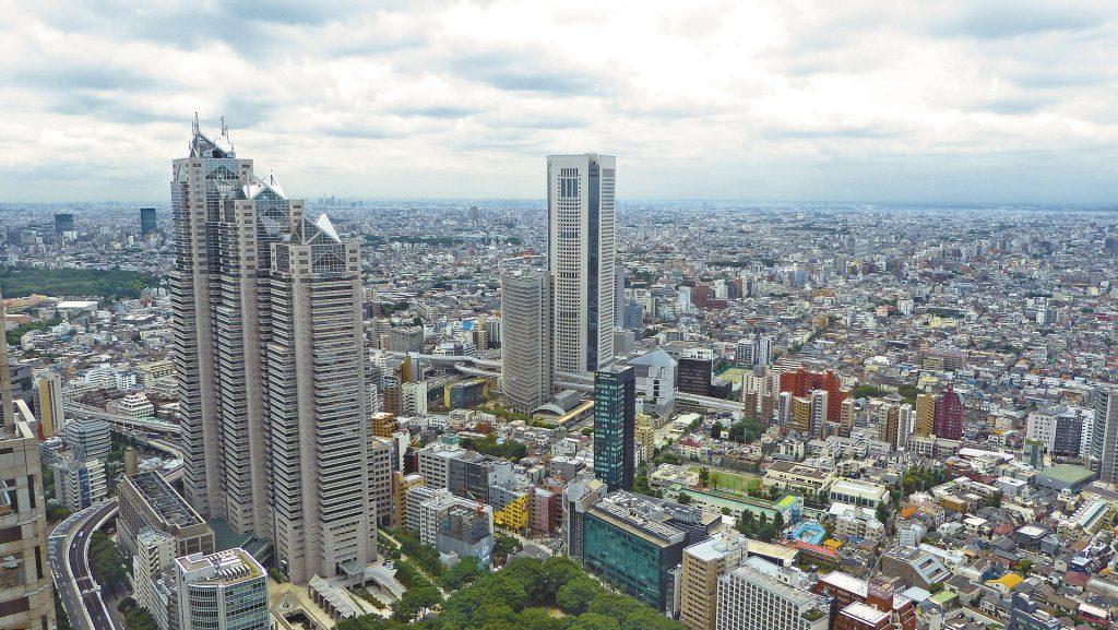 Tokyo uitzicht