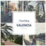 Travel diary Valencia, Spanje
