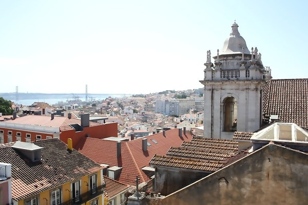 Uitzicht Lissabon lievelingsplek Kiki Bosman van Girls Who Magazine